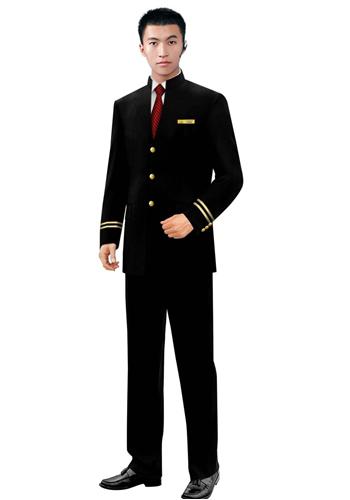 酒店男士制服