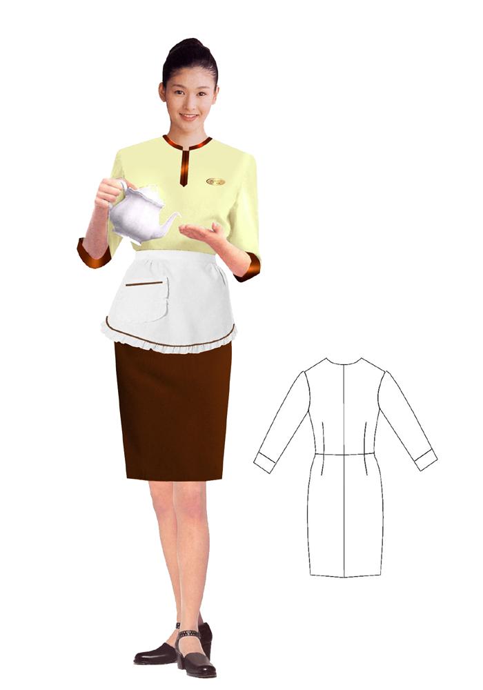 茶艺师服装