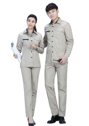纯棉工作服1
