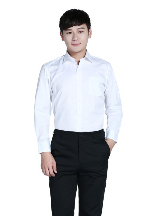 白色男士衬衫