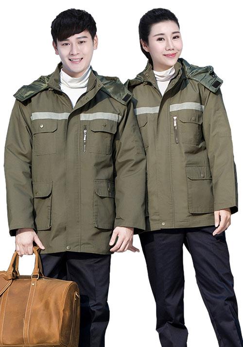 定制冬季工作服时有哪些款式可以选择?
