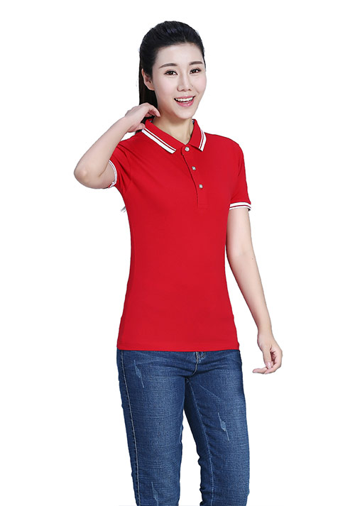 订做t恤衫选择红颜色的好看吗?