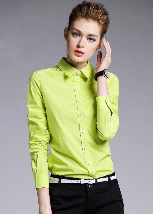 不同职业定制衬衫色彩的挑选